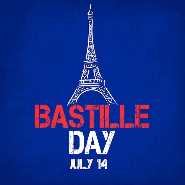 French national day. happy bastille day Premium Photo