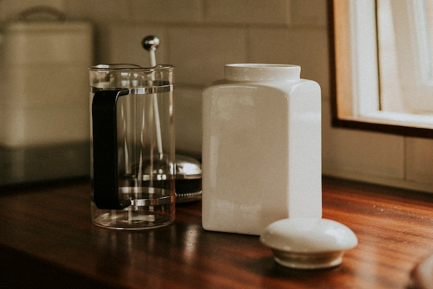 Empty Cafetiere