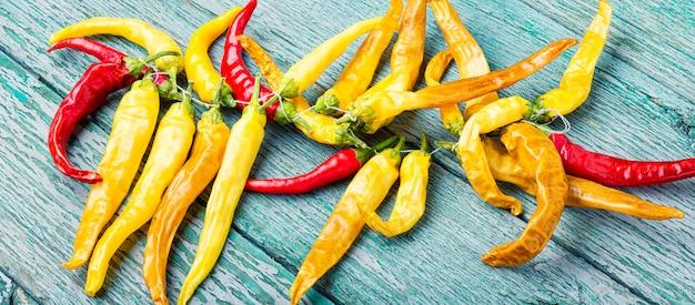 Fresh chili pepper Premium Photo