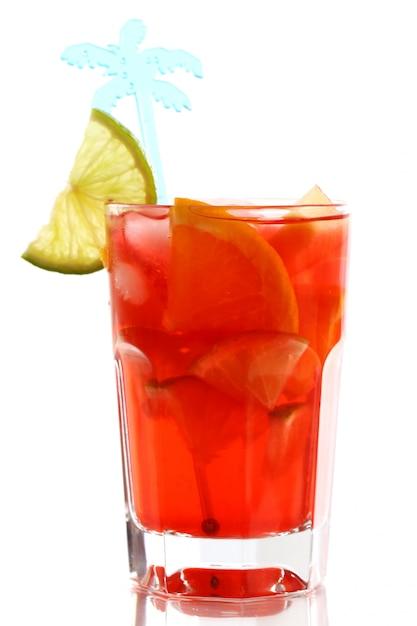 Fresh citrus cocktail Free Photo