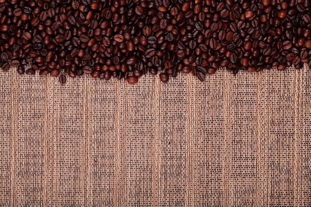 Fresh coffee beans , ready to brew delicious coffee Premium Photo