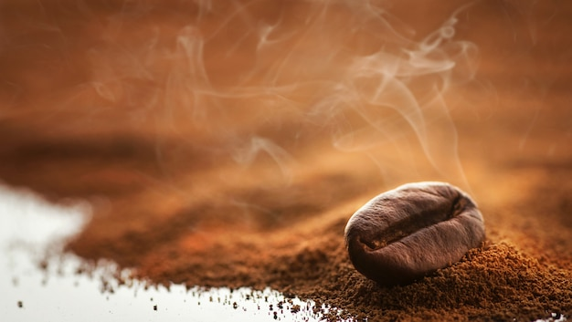 Fresh coffee Premium Photo