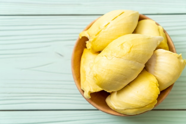 Fresh durian fruit Premium Photo