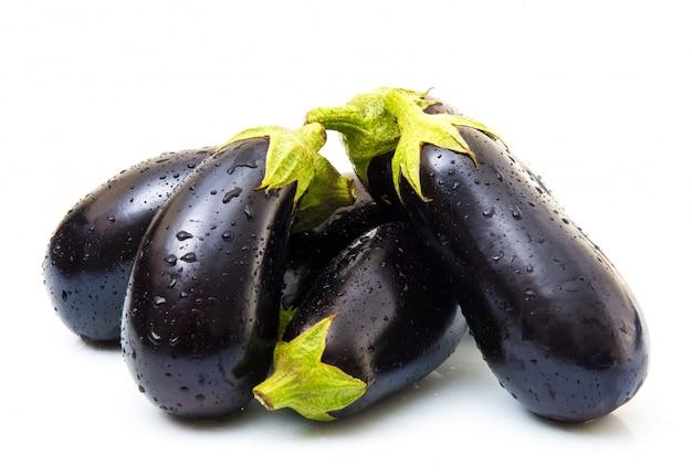 Fresh eggplant Premium Photo