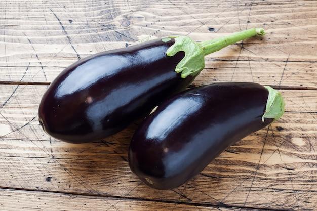 Premium Photo | Fresh eggplant