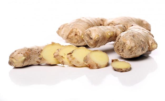 Fresh ginger root Free Photo