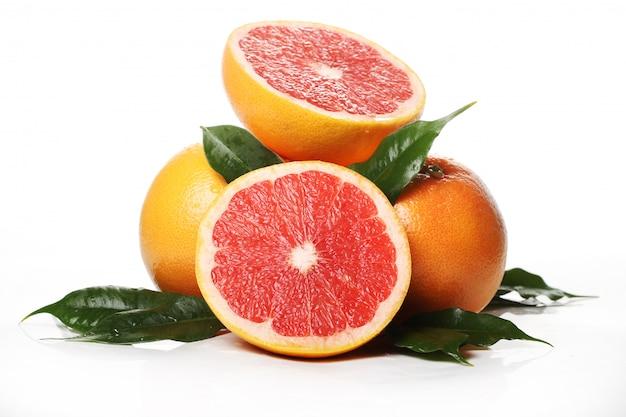 Fresh grapefruits Free Photo