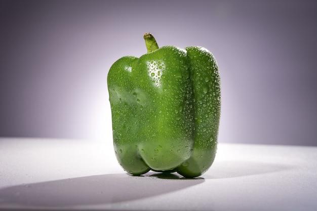 Fresh green pepper Free Photo