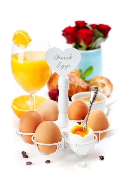 新鮮でヘルシーな朝食 Premium写真