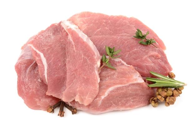 싱싱한 고기 프리미엄 사진
