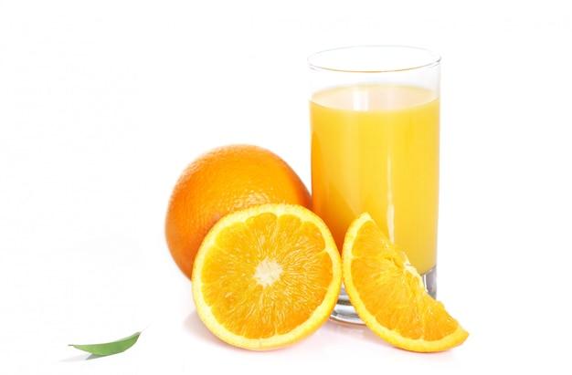 Fresh orange juice Free Photo