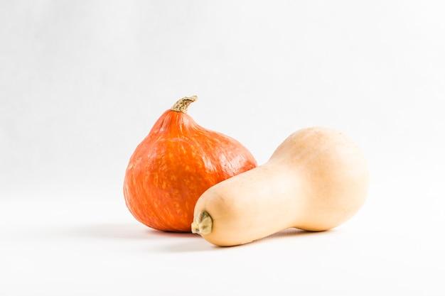 Fresh orange pumpkins Premium Photo