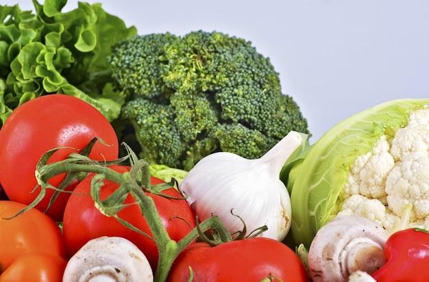Fresh organic veges Free Photo