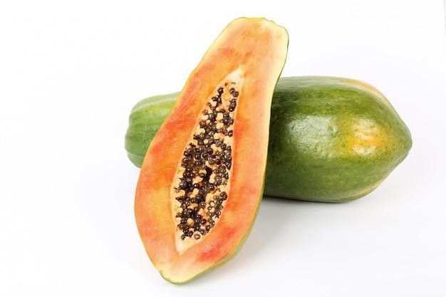 新鮮なパパイヤの果実 無料写真