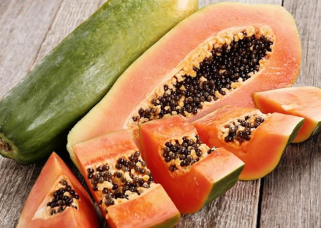 papaya for vitamin c