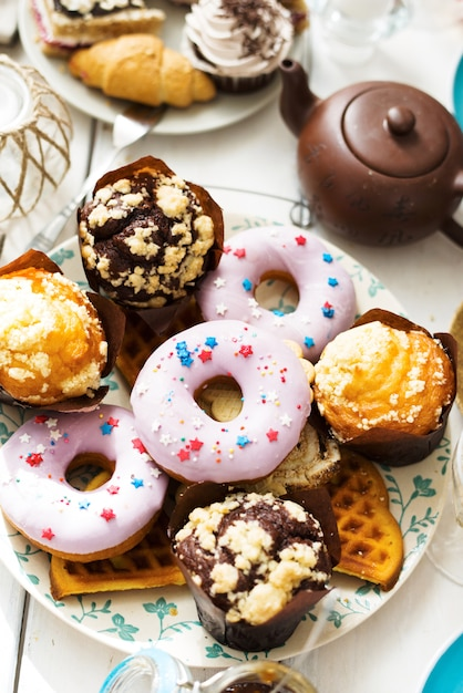 Fresh pastry Free Photo
