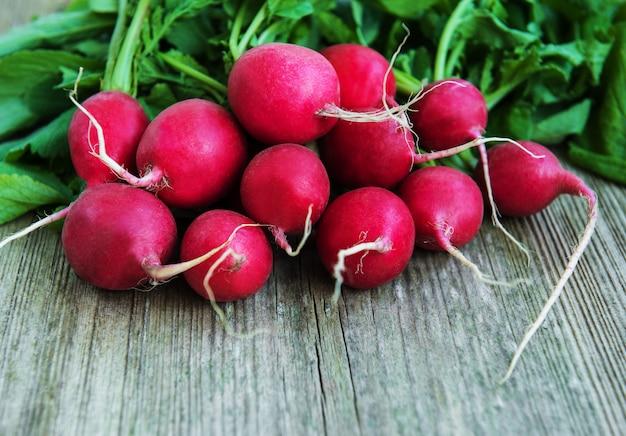 Fresh purple redish Premium Photo