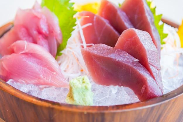Fresh raw sashimi fish Free Photo