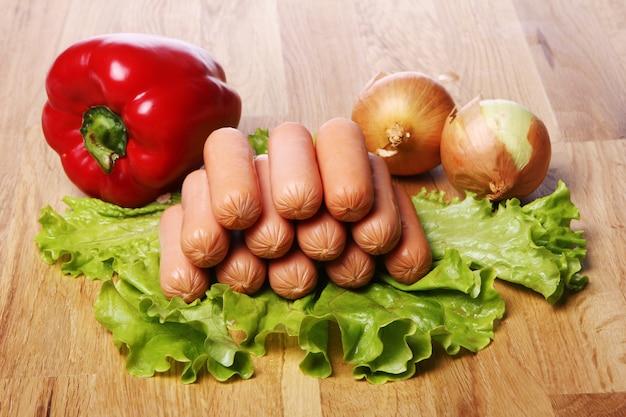 Свежие соусы и овощи Бесплатные Фотографии