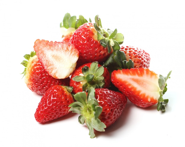 Fresh strawberries Free Photo