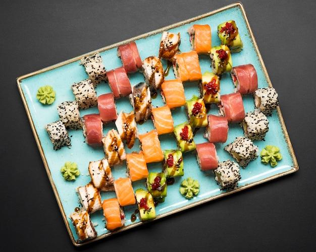 Свежая композиция суши Бесплатные Фотографии