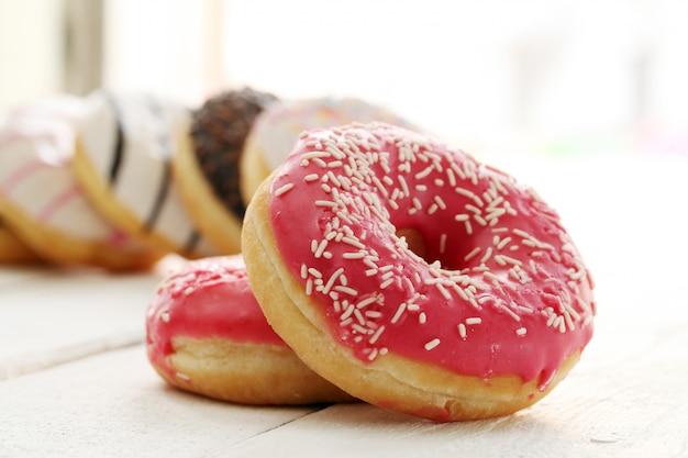 Fresh薬と新鮮なおいしいドーナツ 無料写真