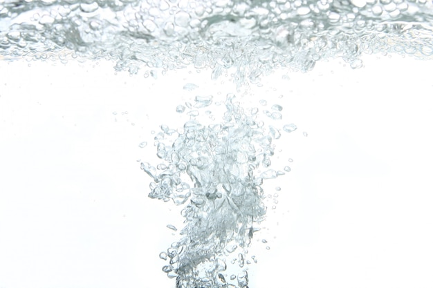 A fresh water abstract splash Free Photo