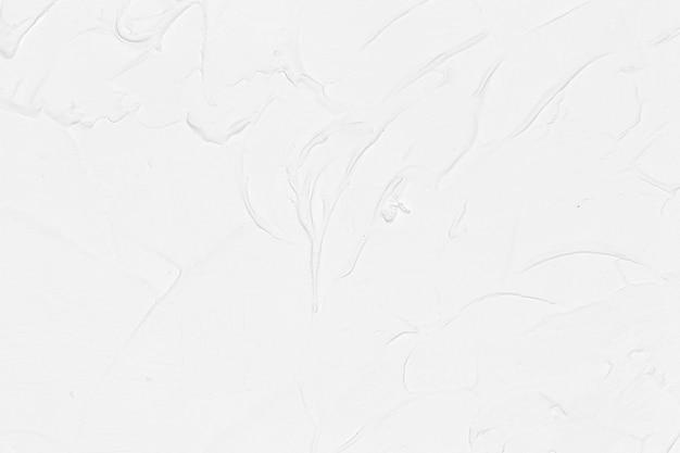 新鮮な白いブラシペイントの背景 無料写真