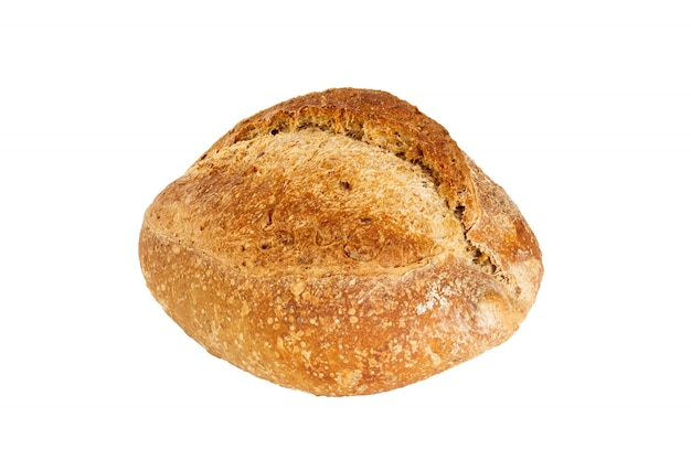 Freshly baked bread isolated Premium Photo