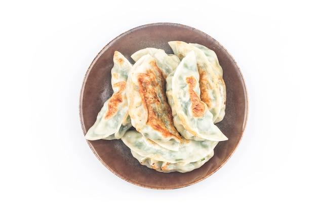 Fried dumpling isolated on white Free Photo