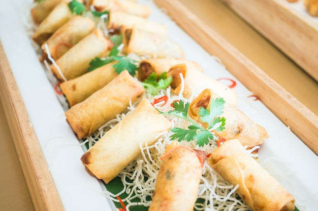 Fried Spring Roll Photo Free Download
