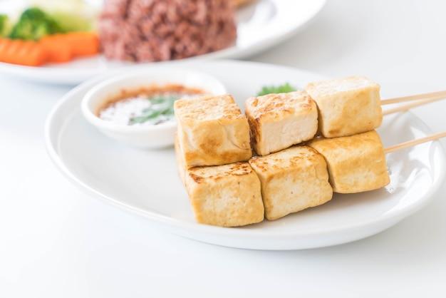 Fried tofu Free Photo
