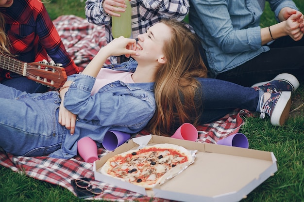 Friends on a picnic 1157 6583