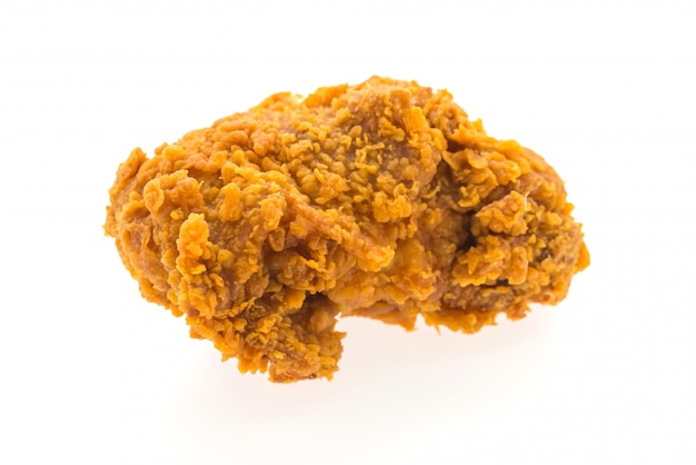 Fries chicken isolated Free Photo