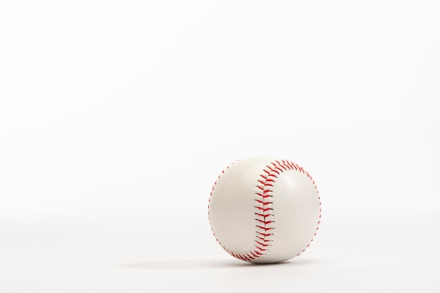 Front view of baseball with copy space Free Photo
