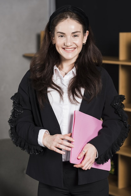 Front view of human resources woman Free Photo