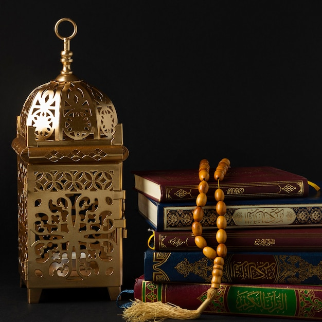 Front view islamic new year concept Free Photo