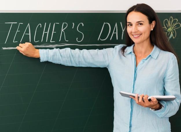 先生の日を祝う正面教師 無料写真
