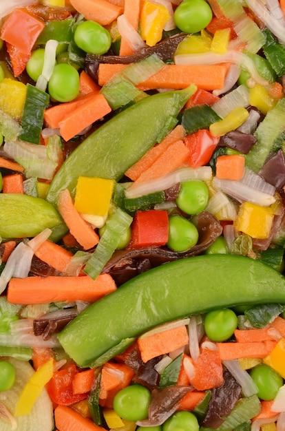 Frozen vegetables Premium Photo