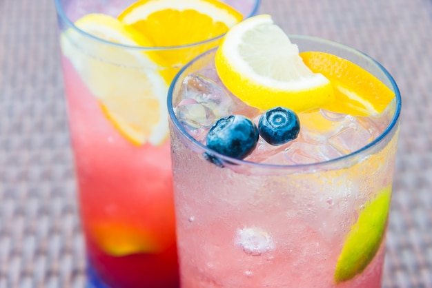 Fruit mocktail Free Photo