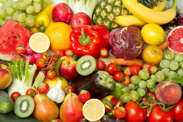 Fruit and vegetables Premium Photo