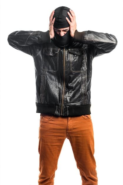 Robber frustrato Foto Gratuite