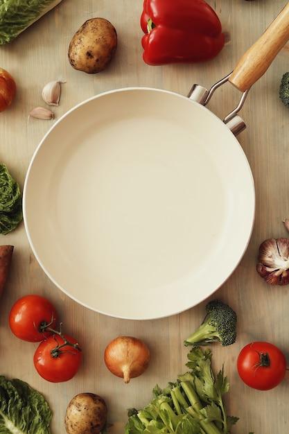 Сковорода с овощами Бесплатные Фотографии