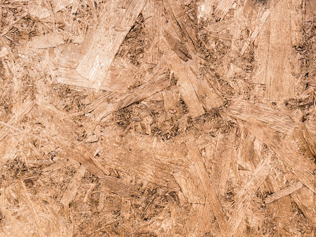 Full frame background of sawdust Free Photo