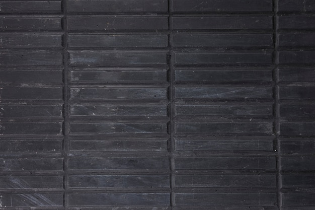 Full frame of black wooden stripes Free Photo