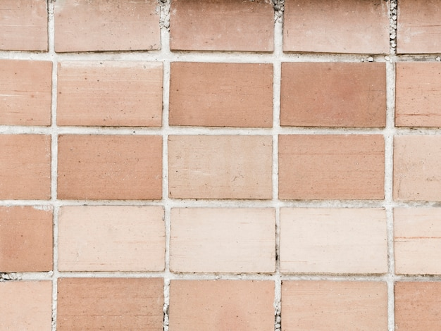 Full frame of brick wall textured background Free Photo