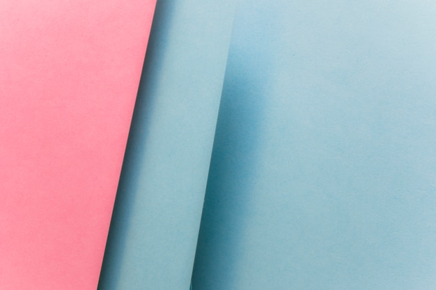 Full frame of geometric paper abstract backdrop