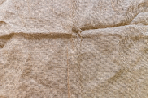 Full frame shot of brown fabric texture background Free Photo