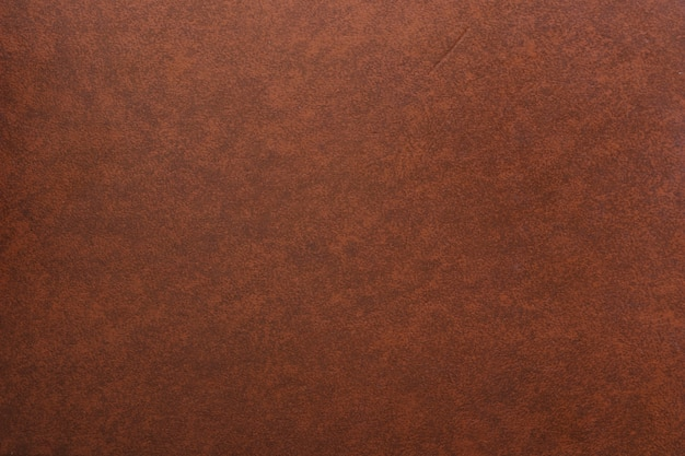 Full frame shot of brown leather background Premium Photo