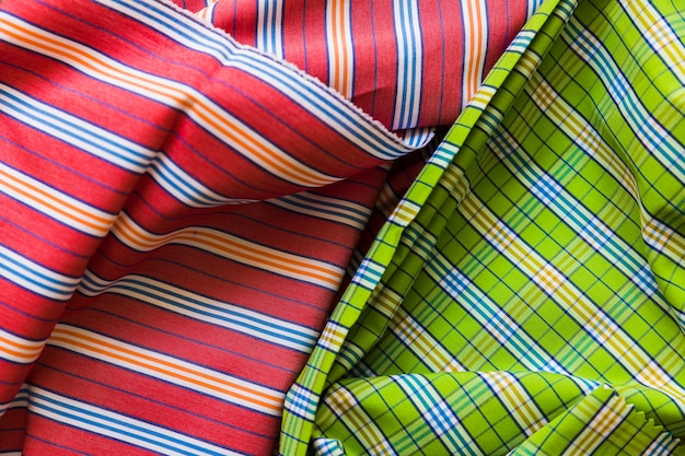 Full frame shot of cotton textile background Free Photo